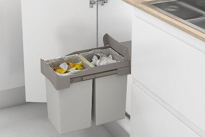 Cubos de reciclaje con apertura automática Casa En Orden