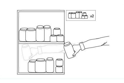 Dibujo de mueble de cocina