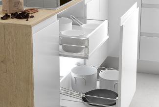 Organización de los cajones de la cocina