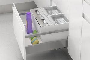 Cómo integrar los cubos de reciclaje en tu cocina