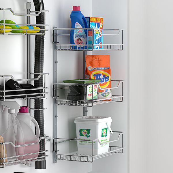 Estante multiple para armario de limpieza y hogar
