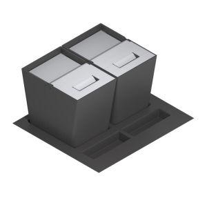 nuevos cubos de reciclar