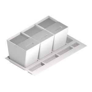 Estilo moderno triple cubo
