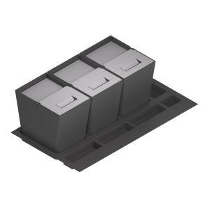 Triple cubo linea flat