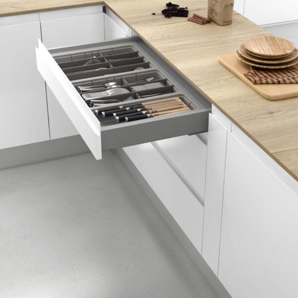 Cubertero modular para cajón de cocina