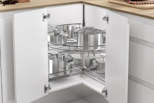 Soluciones para armarios esquineros de cocina