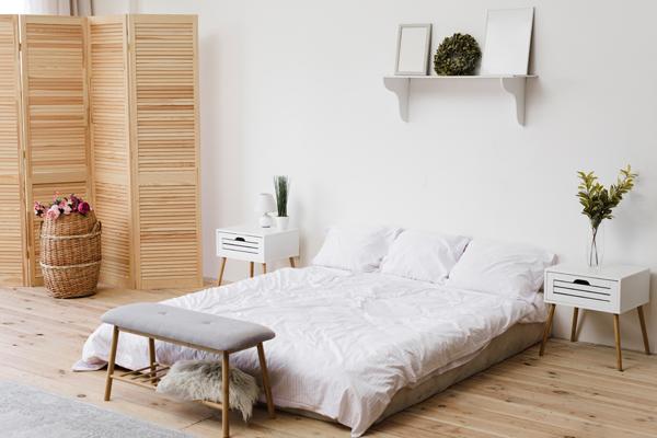 Dormitorio ordenado, calidez de sueño asegurada
