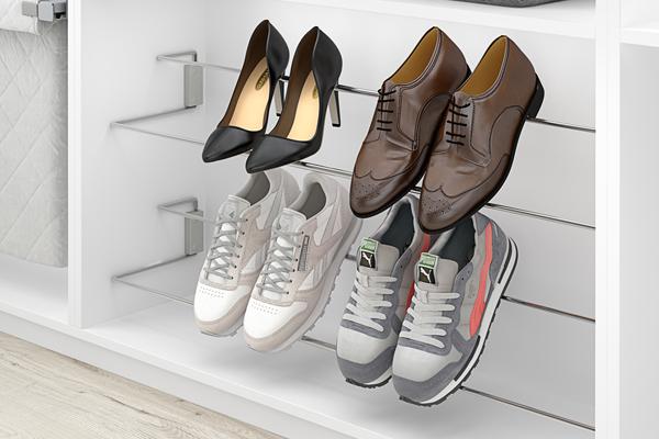 Un zapatero de lado a lado de tu armario