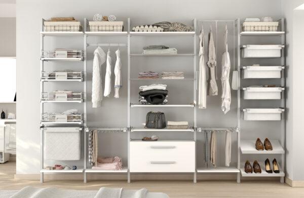 5 ideas para organizar los pantalones en el armario
