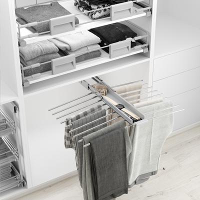 Pantalonero doble para armario vestidor