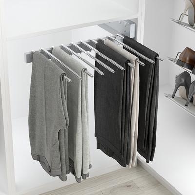 Perchero extraíble para instalar en armario ropero