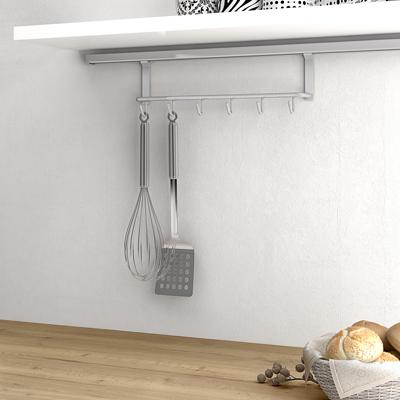 Soporte sobreencimera para utensilios de cocina