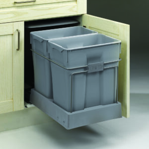 Cubo de basura extraíble de gran capacidad