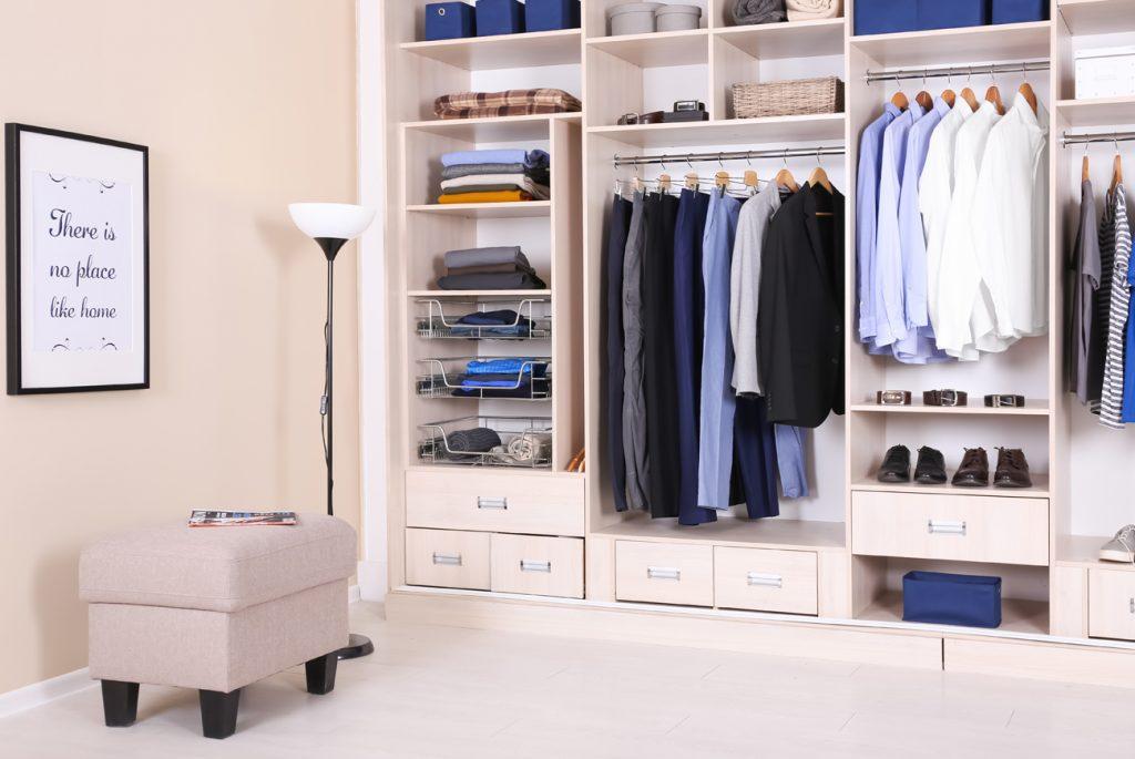 Accesorios para organizar el armario