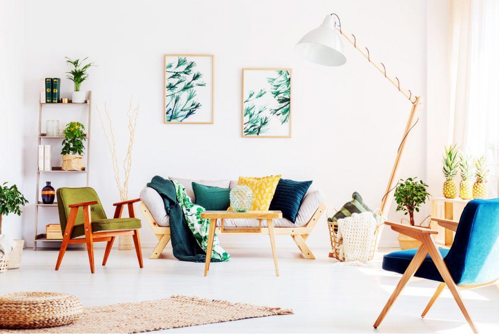 Cómo decorar el salón en primavera