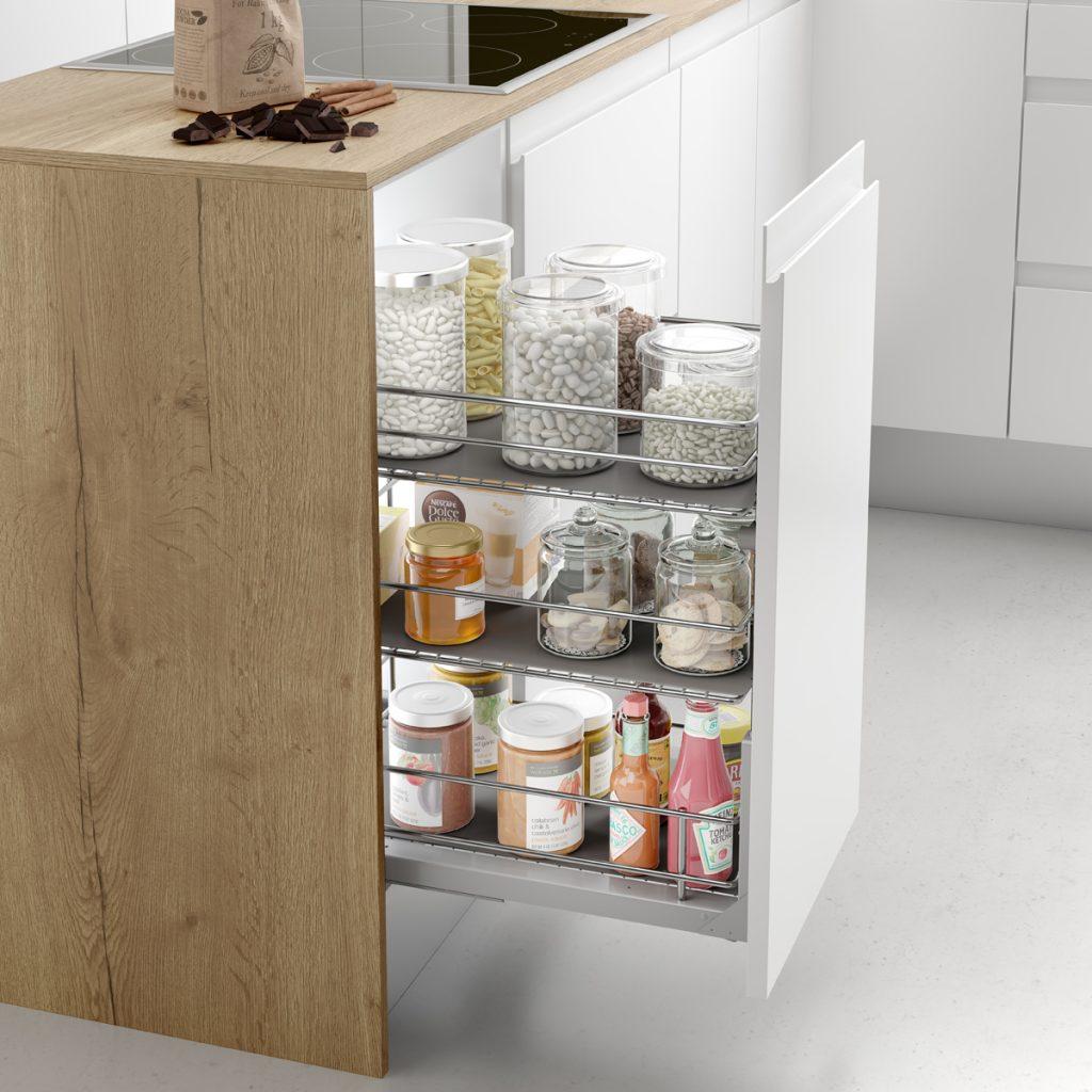 Organización de armarios de cocina