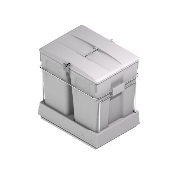 Cubo de reciclaje extraíble