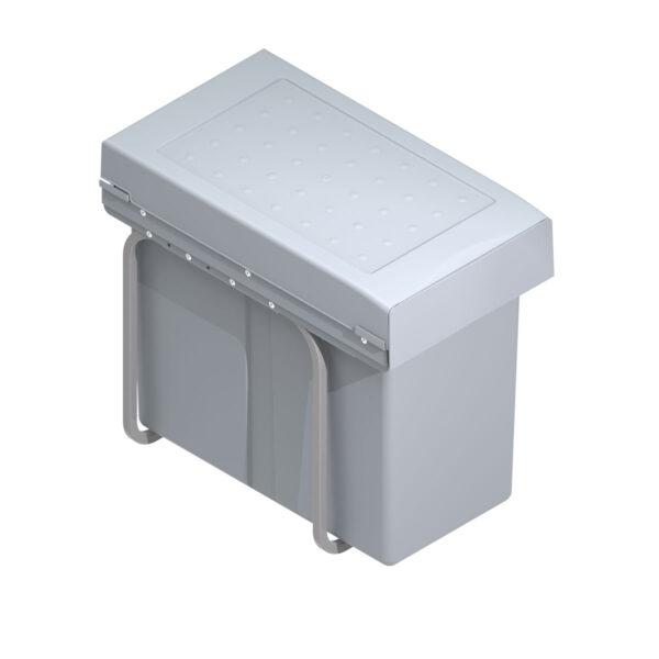 Cubo basura ecológico para frontales de más de 300mm con 1 cubo de 30 litros