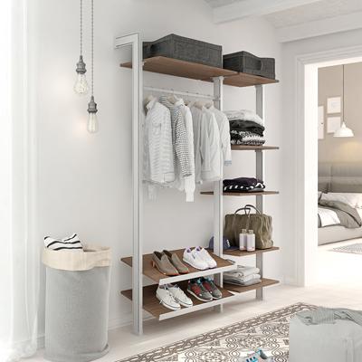 Estantería vestidor para almacenaje