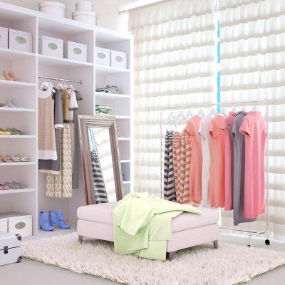 Cómo elegir las barras y soportes para tu armario