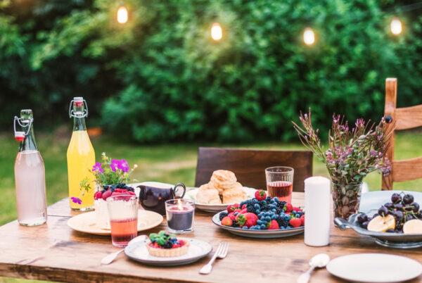 Cómo preparar el jardín para una velada perfecta