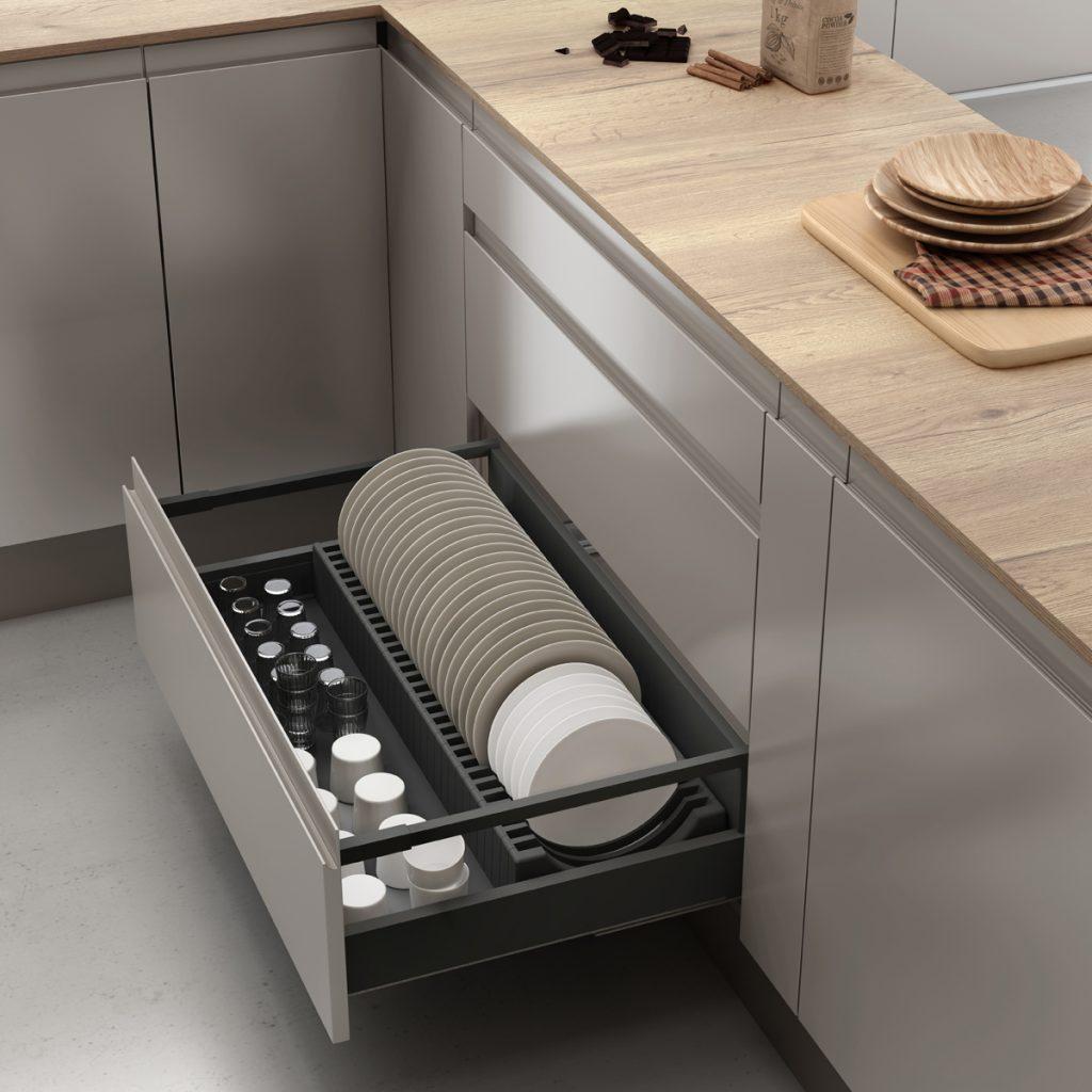 Cómo organizar tus platos