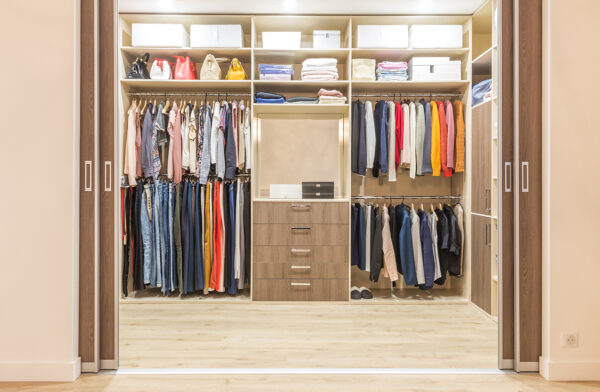 Organizar ropa de invierno