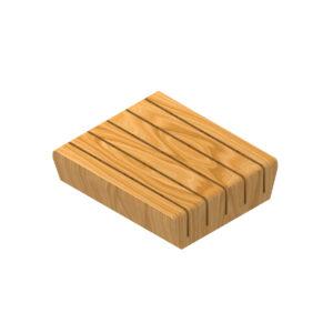 Soporte de cuchillos de madera