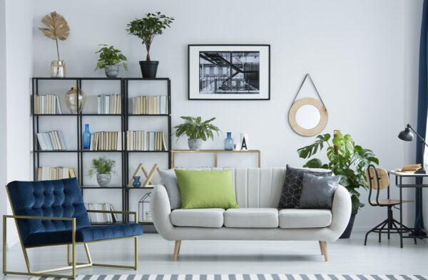 Orden y decoración con estanterías