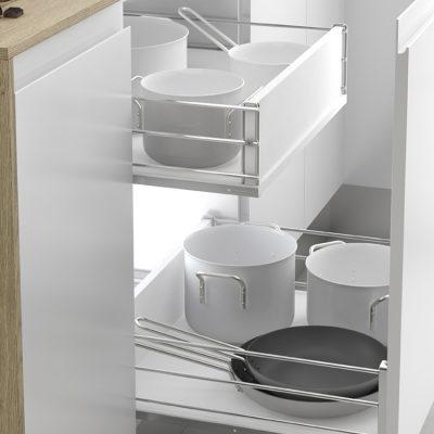 Trucos para organizar tu batería de cocina
