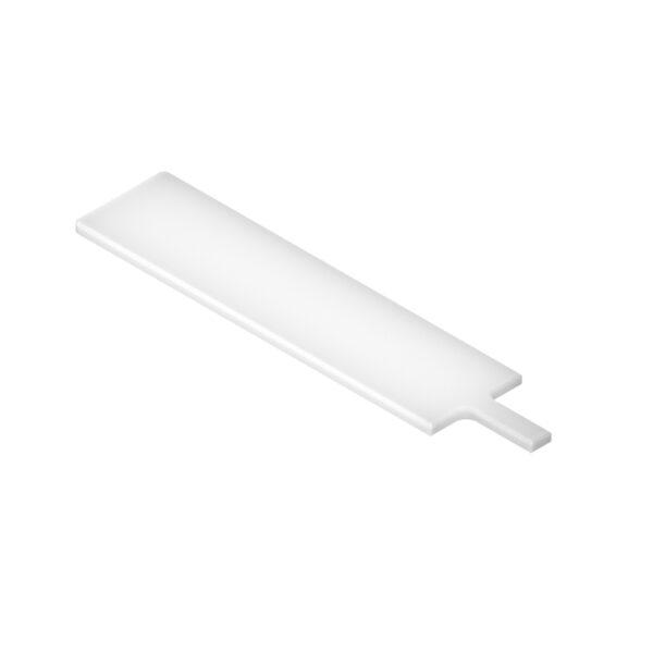 Tabla de polietileno blanca para cortar