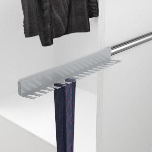 Colgador para cinturones o corbatas armario pequeño