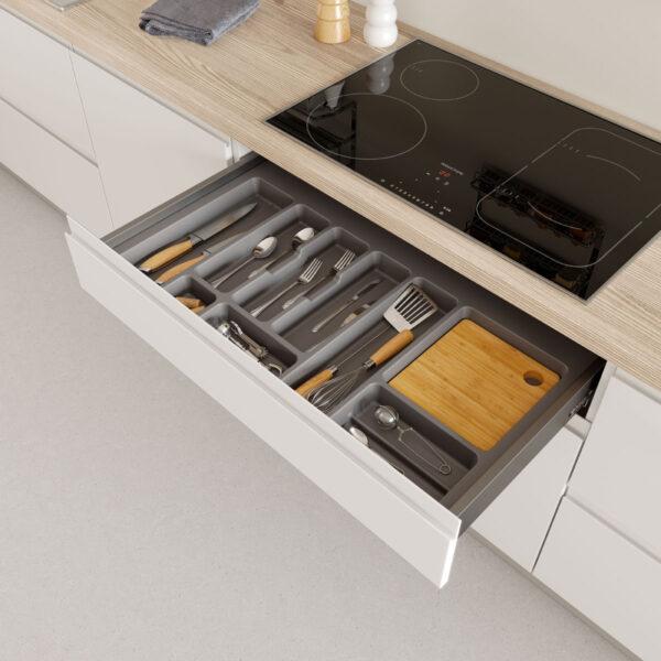 Cubertero adaptable para cajón