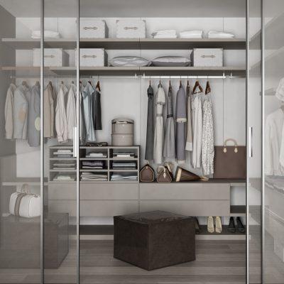 6 ideas para organizar un armario pequeño