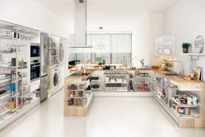 Almacenaje de la cocina