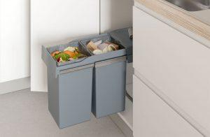 Medir cubos de basura