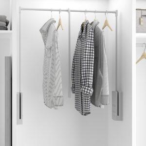 Barra para abrigos y vestidos