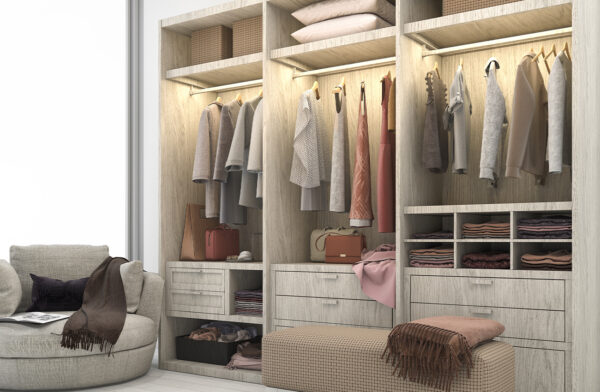 Cambia tu armario por un vestidor