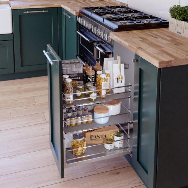 Despensa para almacenaje de mueble de cocina